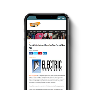 Electric Entertainment Launches New Electric Now App