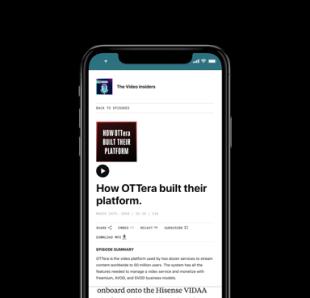 How OTTera built their platform
