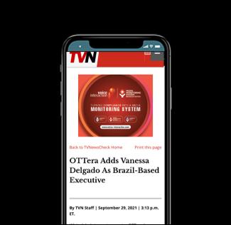 OTTera Adds Venessa Delgado as Brazil-Based Executive